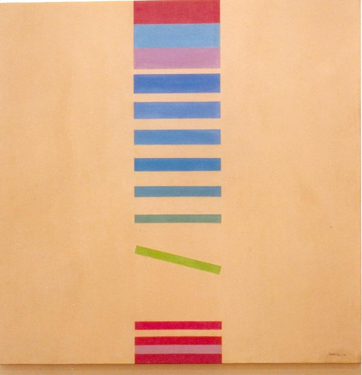 I.V.(C)-04-86 1986  óleo sobre tela 0.85 x 0.85 mts.