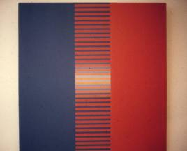 J.V -011-89 1989 Óleo sobre tela 0.85 x 0.85