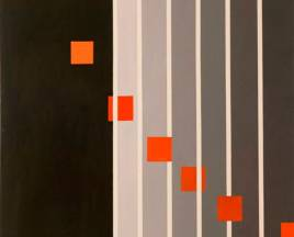 SERIE NEGRA N°19 1968 mixta s/lino  1.20  x 1.20 mts.